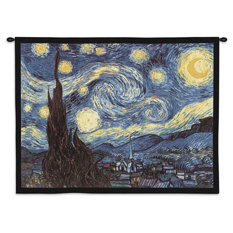 Van Gogh Starry Night Tapestry