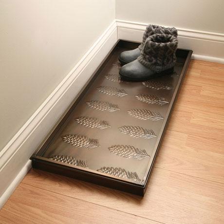Pinecones Boot Tray
