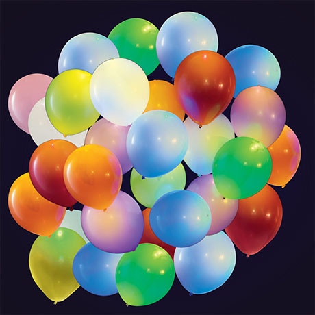Set of 2 Packs of 15 Light Up LED Balloons (30 Balloons Total)