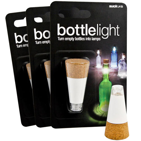 Set of 3 LED Bottle Lights
