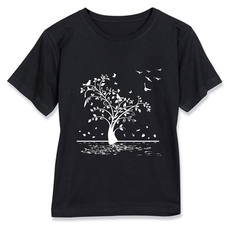Falling Leaves Short-Sleeve T-Shirt
