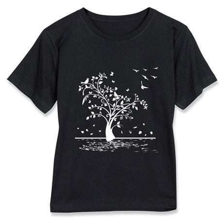 Falling Leaves Short-Sleeve T-Shirt