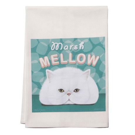 Kitty Cat Cotton Dish Towels Set