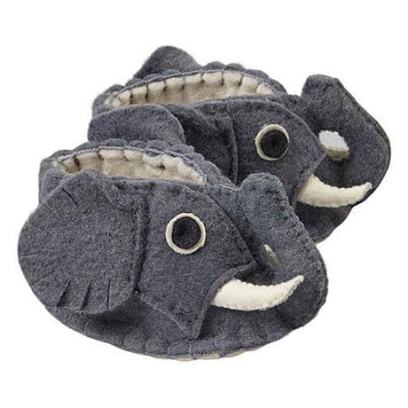 Zooties Baby Booties - Elephants