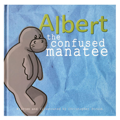 Albert the Confused Manatee Book