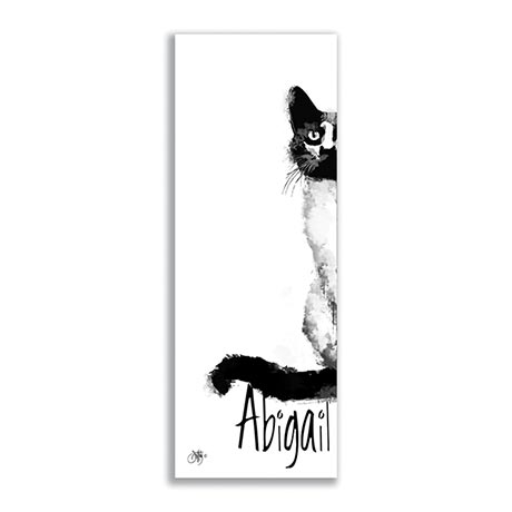Personalized Cat Plaque