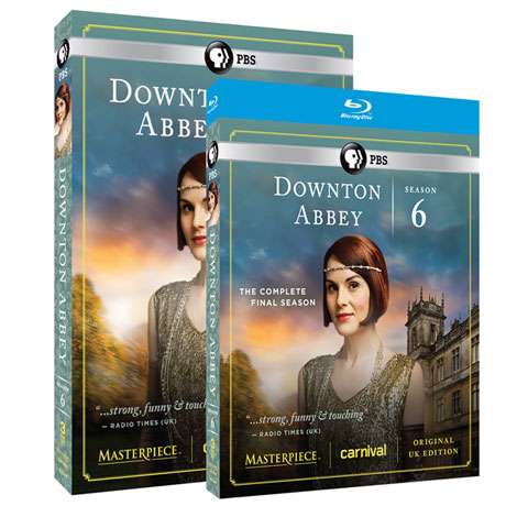 Downton Abbey Season Six - The Final Season DVD & Blu-ray