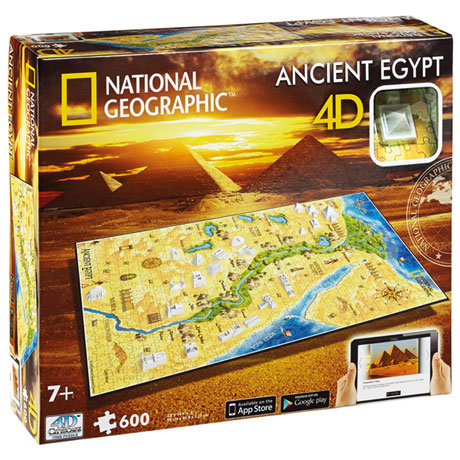 National Geographic 4D Ancient Civilization Puzzles - Egypt