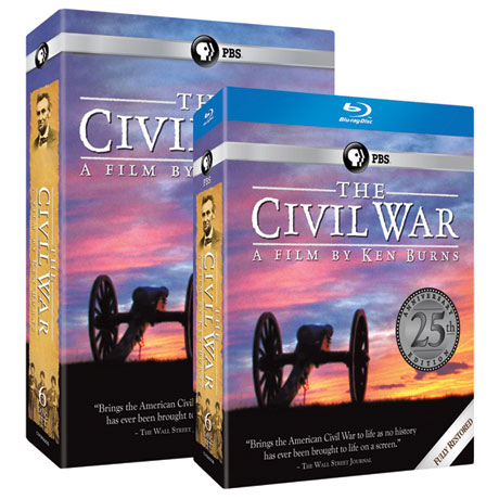The Civil War 25th Anniversary Edition DVD and Blu-ray