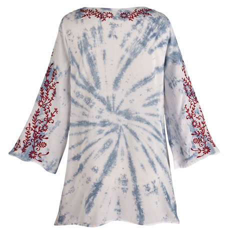 Embroidered Vines Tunic