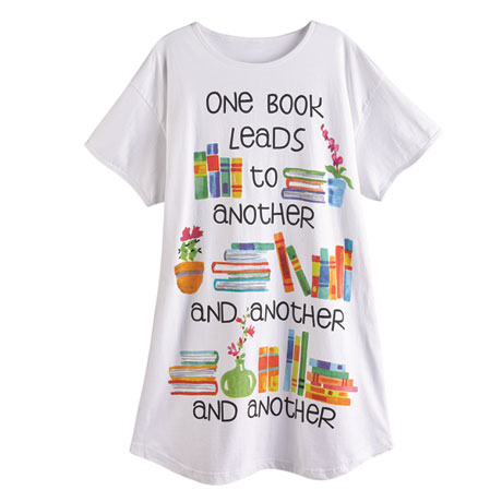 One Book Leads to Another Nightshirt