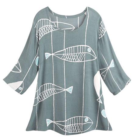 Fish Art Tunic