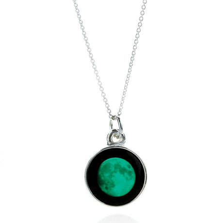 Custom Moon Phase Necklace