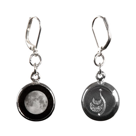 Custom Moon Phase Earrings