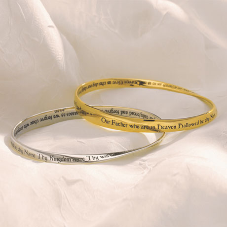 Lord's Prayer Mobius Bracelet
