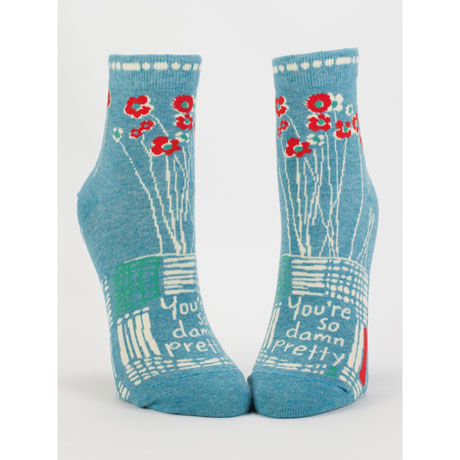 So Damn Pretty Socks