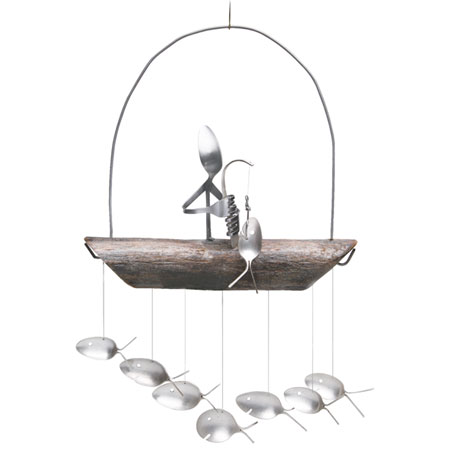 Gone Fishing Wind Chime