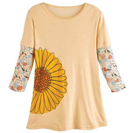 Flower Organic T-Shirt