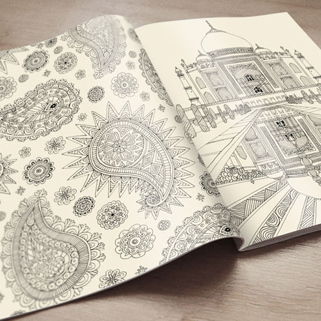 Personalized Creative Coloring Books