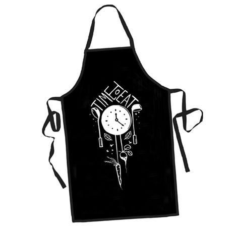 Time to Eat Apron