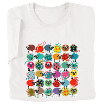 Sheep and Yarn T-Shirt