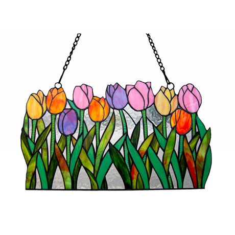Tulips Window Panel