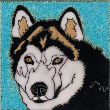 Dog Art Tiles