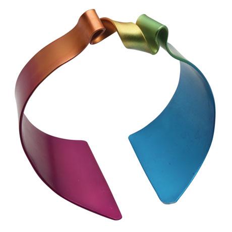 Rainbow Art Aluminum Cuff Bracelet