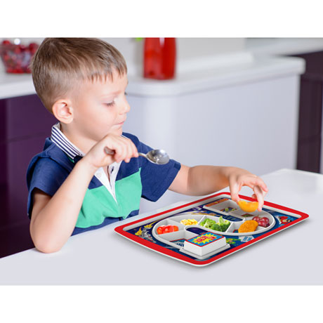 Dinner Winner Supper Hero Melamine Tray