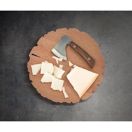 Cheese Log Knife and Board Set