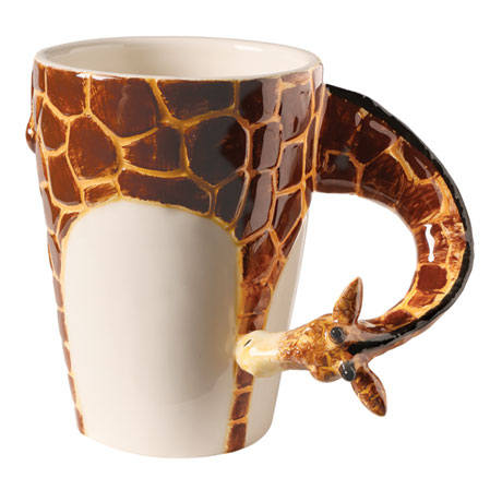 Giraffe Ceramic Mugs