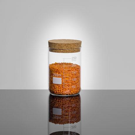 Glass Beaker Storage Jar - 250ml - Small