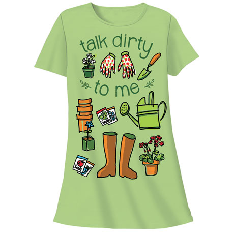 Talk Dirty Nightshirt