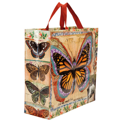 Butterfly Monarchy Tote