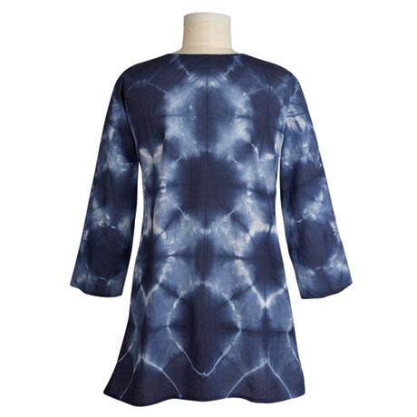 Indigo Tie-Dye Tunic