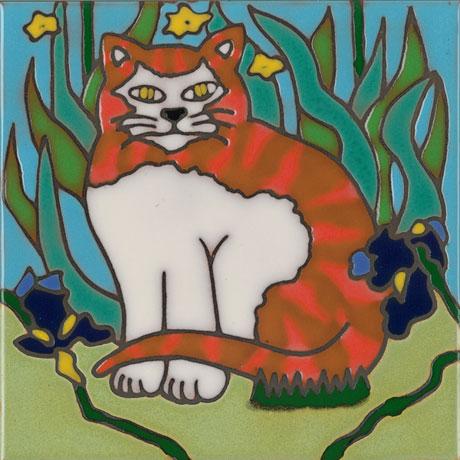 Cat Art Tiles