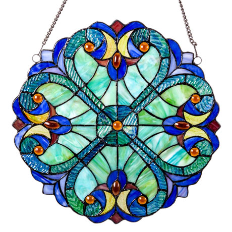 Baroque Style Window Panel