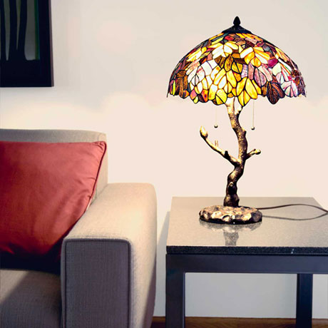 Maple Tree Table Lamp