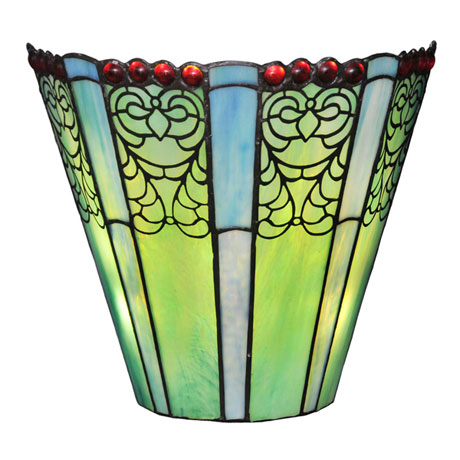 Emerald Wireless Battery-Operated LED Wall Sconce