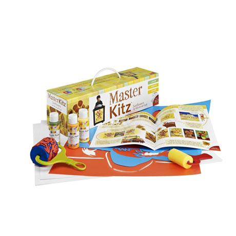 Master Kitz: Sunflowers Van Gogh Style Painting Kit