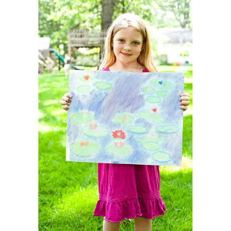 Master Kitz: Water Lilies Monet Style Painting Kit