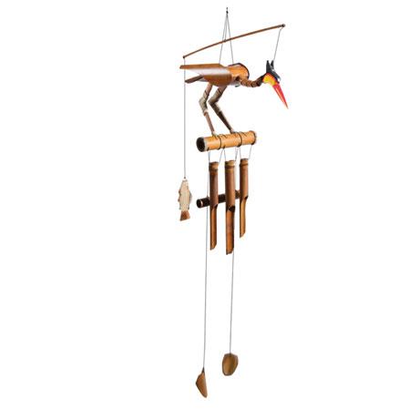 Shorebird Bamboo Wind Chime