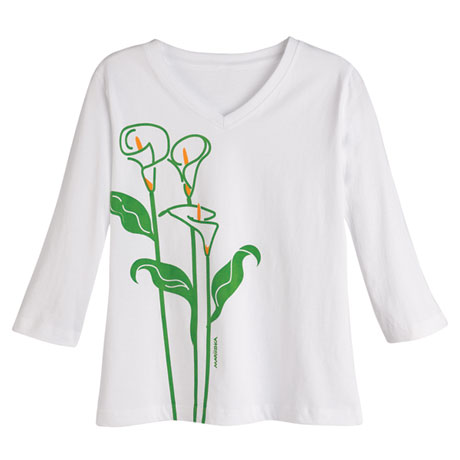 Marushka Calla Lilies Tees