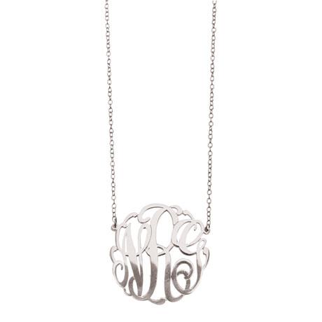 Personalized Monogram Necklace