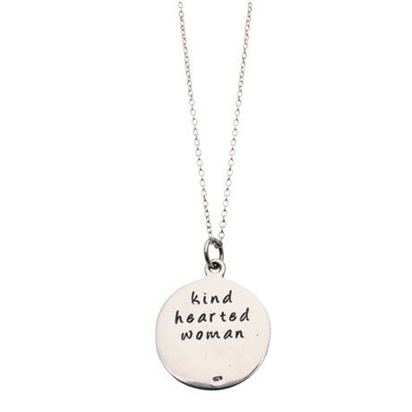 Kind Hearted Woman Sterling Necklace