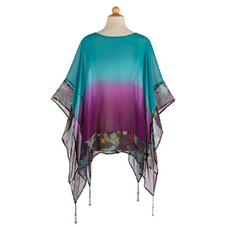 Sonora Beaded Poncho