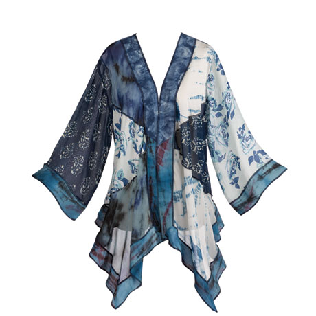 Flow Blue Waterfall Jacket