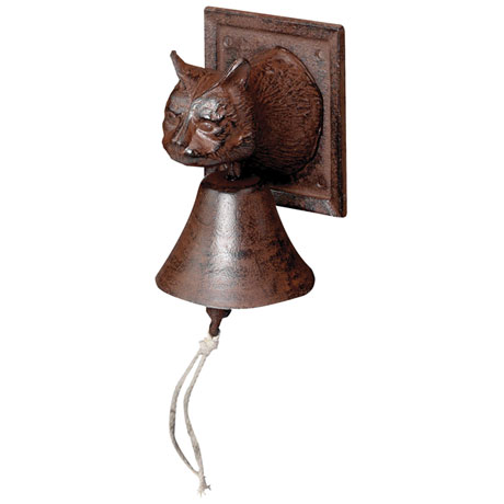 Cast Iron Cat Bells