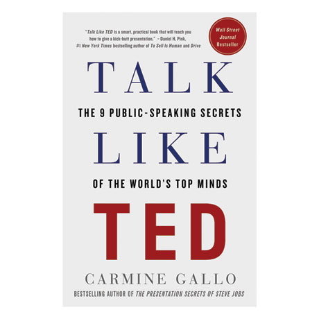 Talk Like Ted Hardcover Book