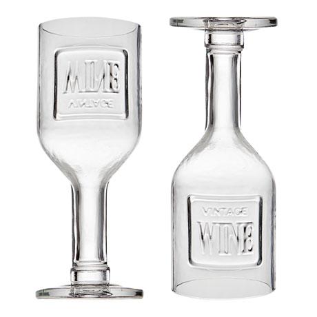 Crystal Vintage Wine Goblet